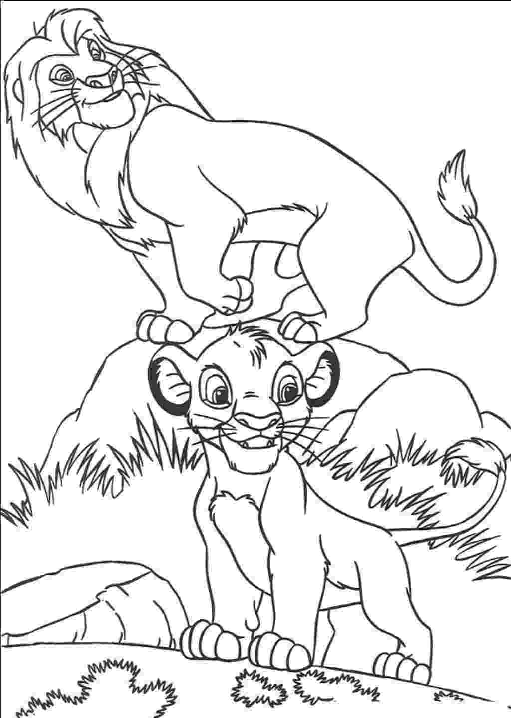 simba coloring page lion king coloring pages best coloring pages for kids coloring page simba