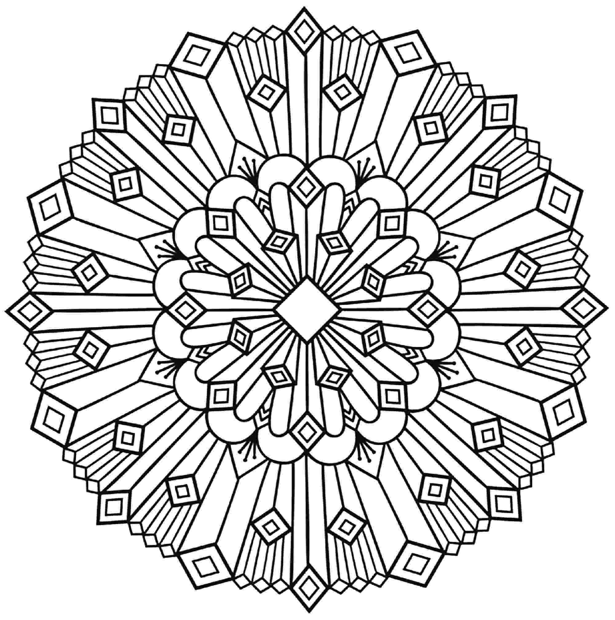 simple mandalas to color free printable mandalas for kids best coloring pages for simple color to mandalas