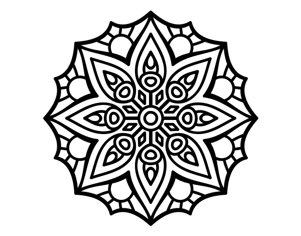 simple mandalas to color free printable mandalas for kids best coloring pages for to color simple mandalas