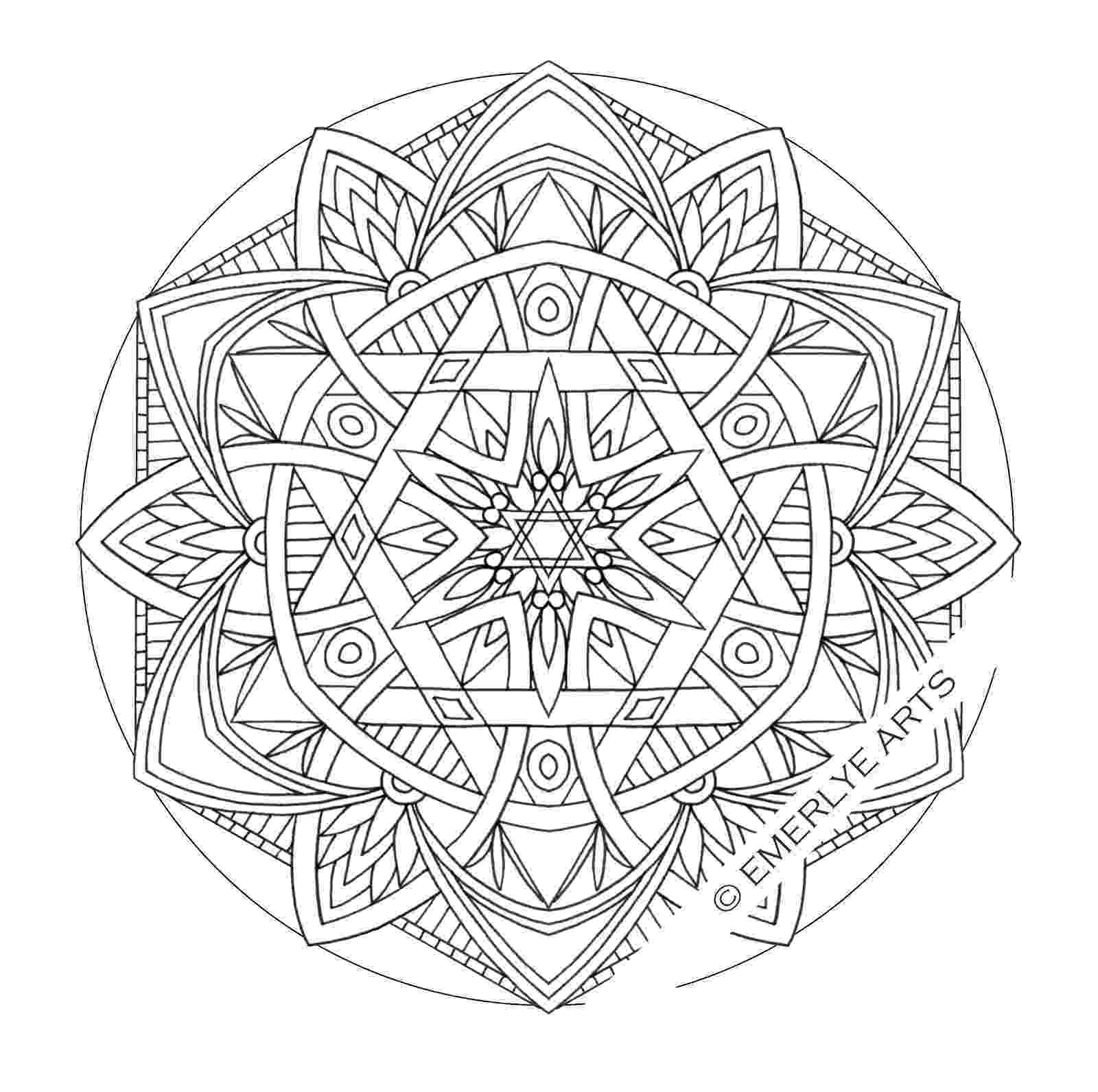 simple mandalas to color free printable mandalas for kids best coloring pages for to mandalas simple color