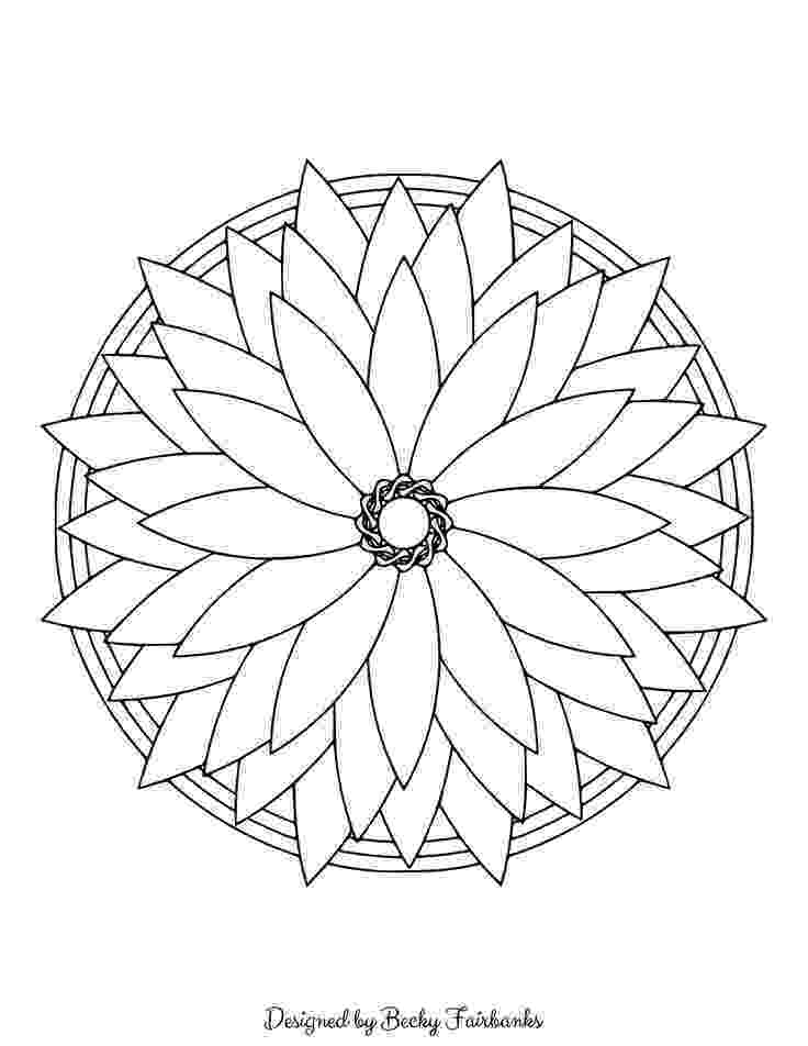 simple mandalas to color simple mandala coloring pages download and print for free simple mandalas to color