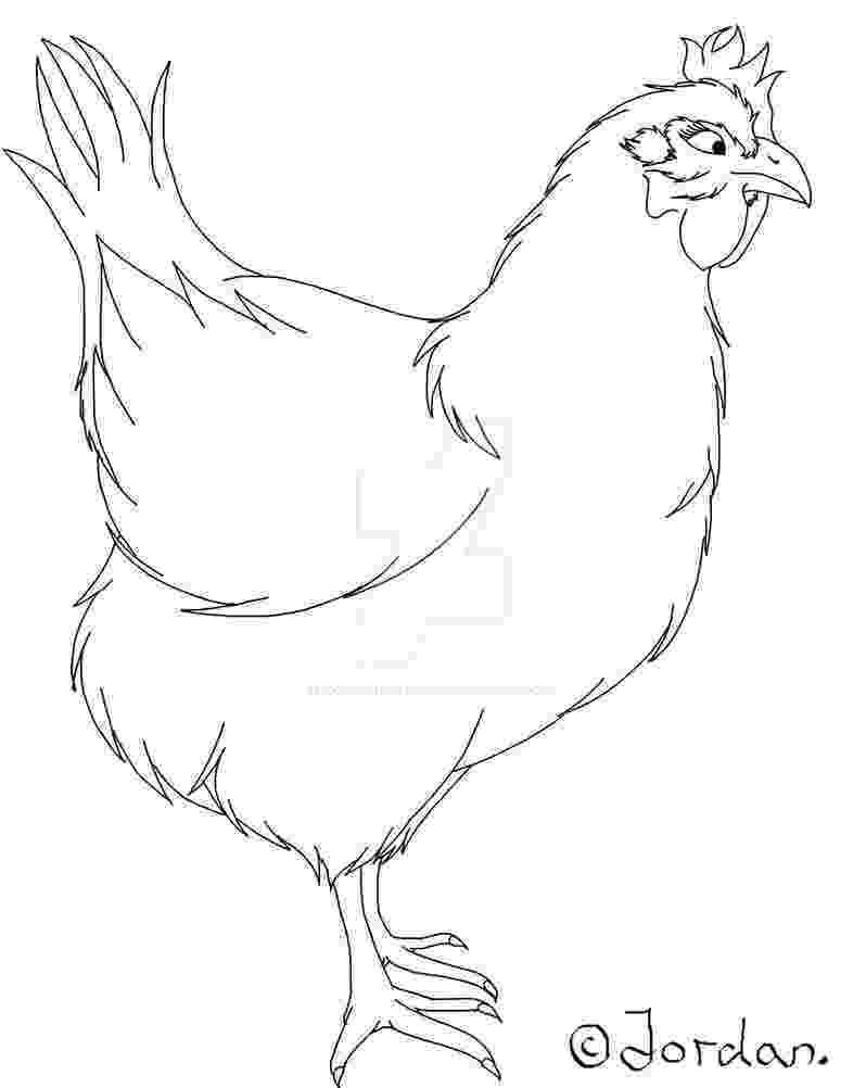 sketch of hen chicken sketch by jordanmireldis on deviantart hen sketch of