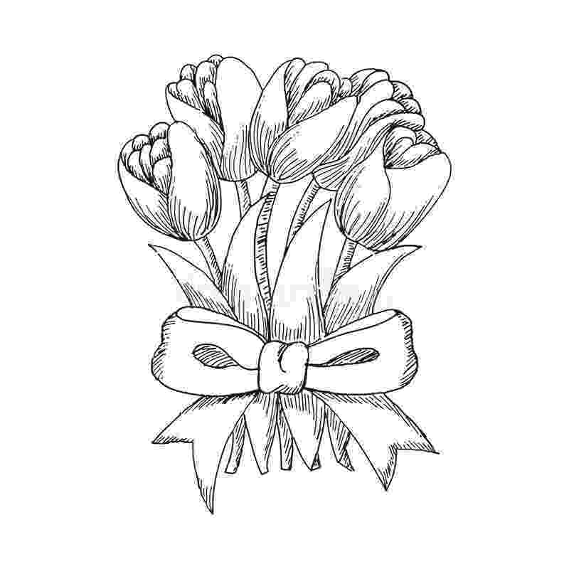 sketch of tulip flower tulip how to draw flowers tulip youtube tulip of flower sketch