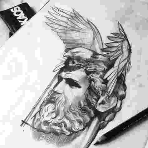 sketch of zeus how to draw god step by step arcmelcom zeus of sketch