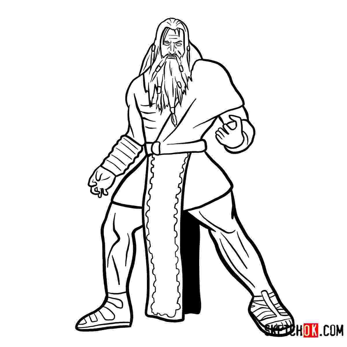 sketch of zeus how to draw zeus god of war step by step drawing tutorials zeus of sketch