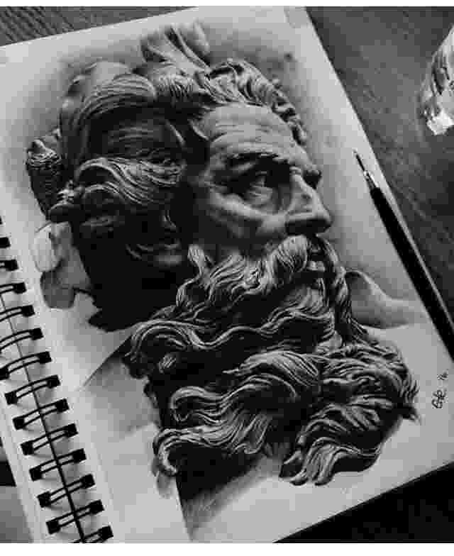 sketch of zeus zeus greek god sketch at paintingvalleycom explore zeus of sketch