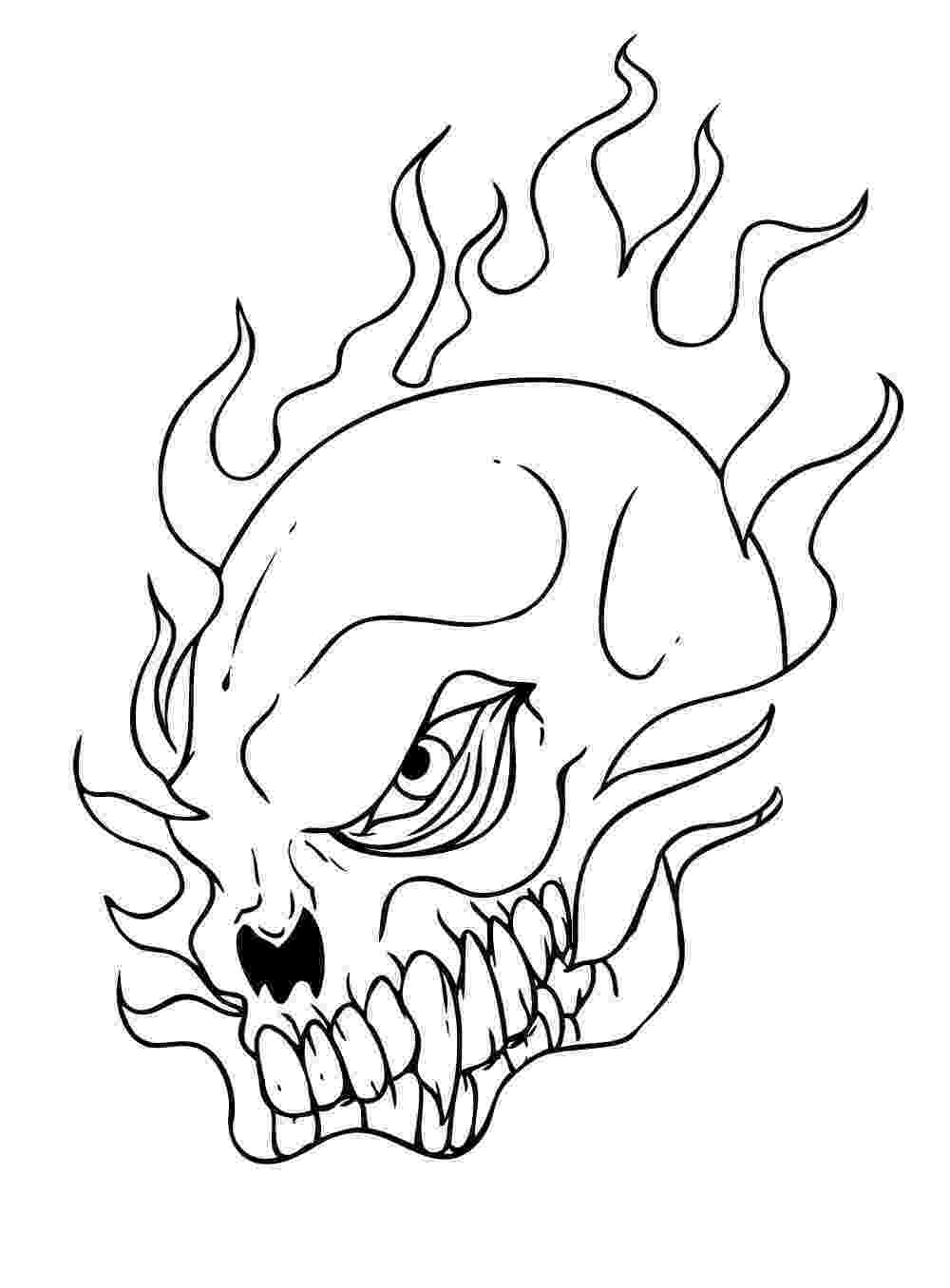 skulls coloring pages free printable skull coloring pages for kids skulls coloring pages