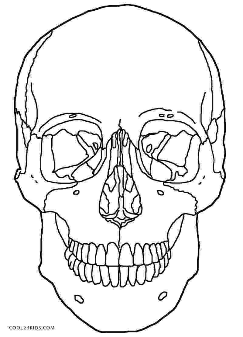 skulls coloring pages printable skulls coloring pages for kids cool2bkids pages skulls coloring