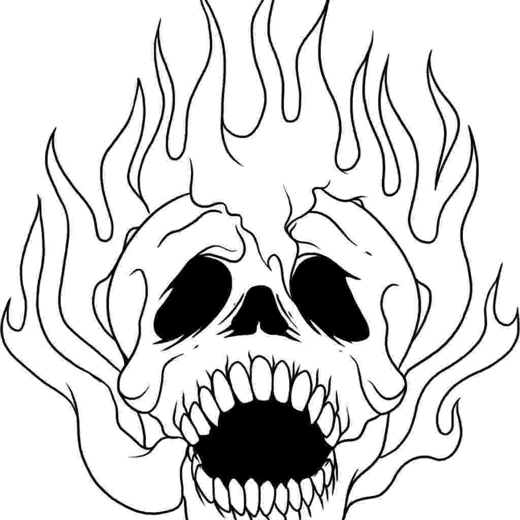 skulls coloring pages skull coloring pages free download on clipartmag skulls coloring pages