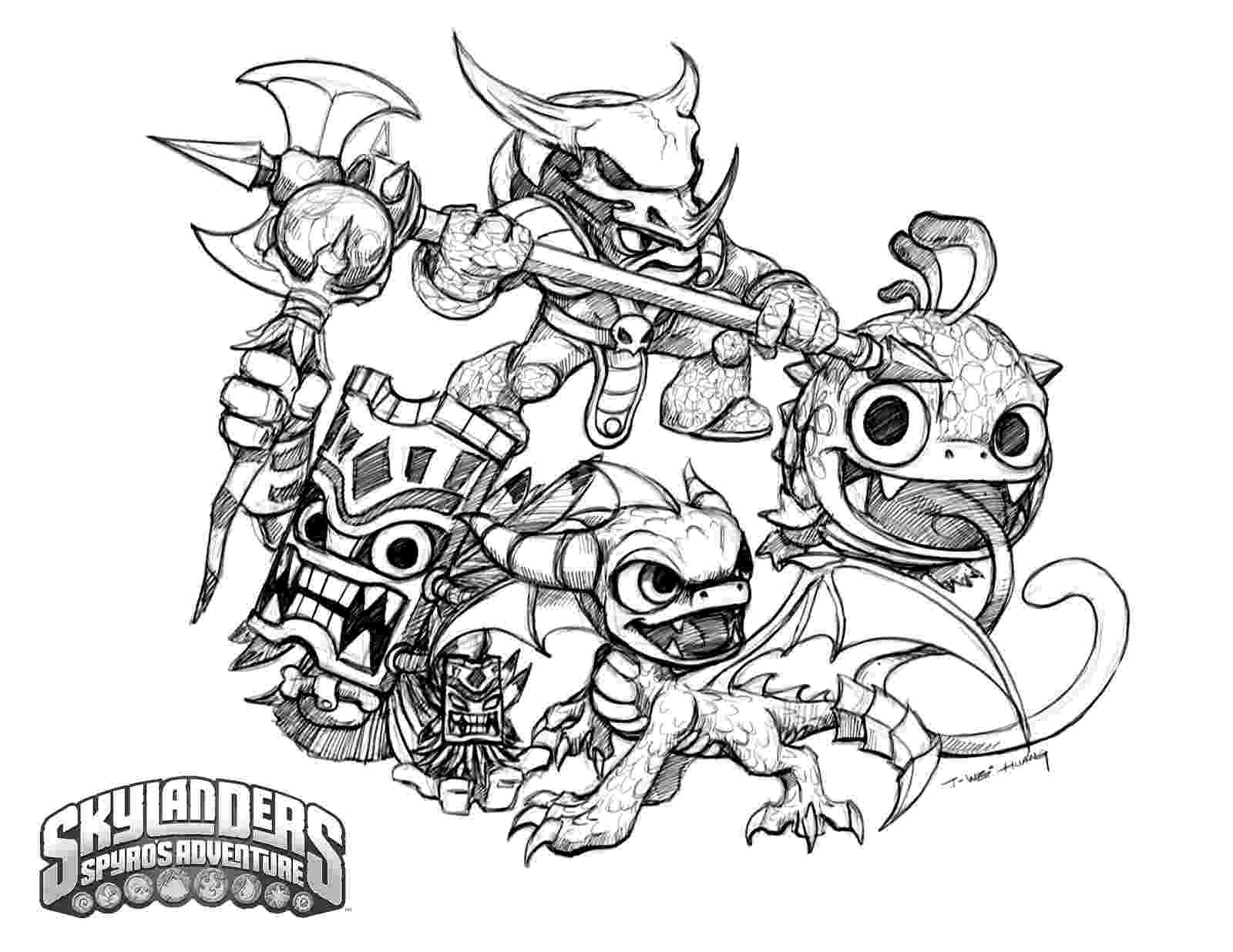 skylander color pages printable skylanders coloring pages pages color skylander
