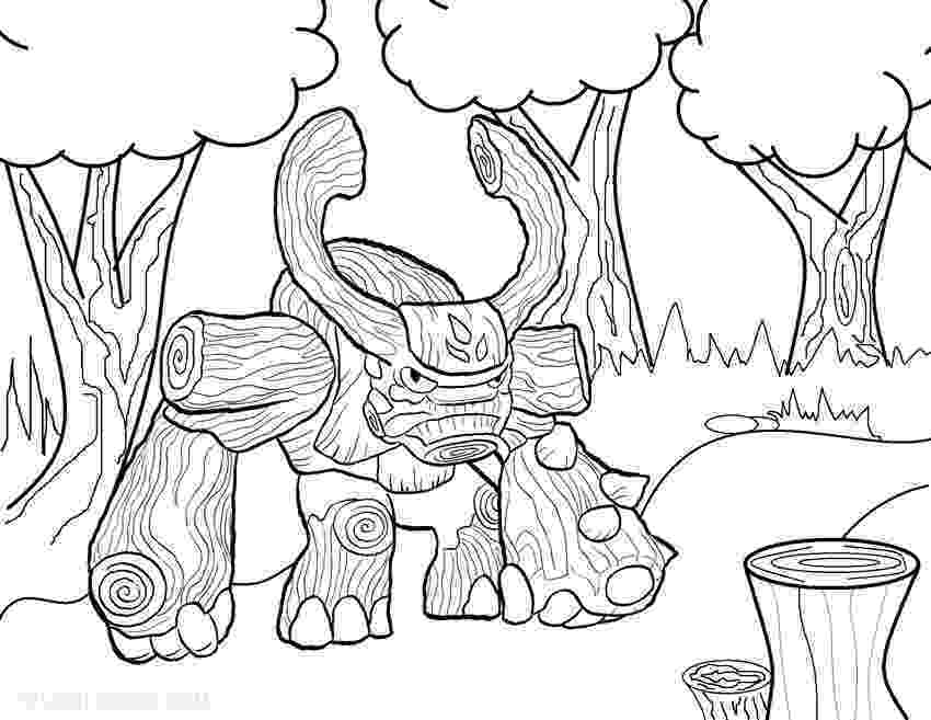 skylander giants coloring pages skylanders giants tree rex coloring page free printable pages giants skylander coloring