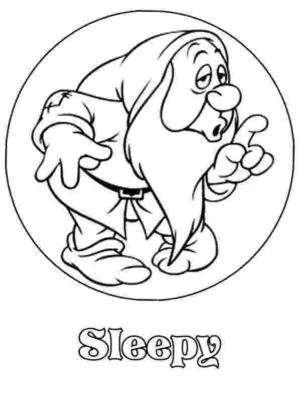 sleepy dwarf cars disney sleepy coon dwarf coloring picture x 40 kb dwarf sleepy
