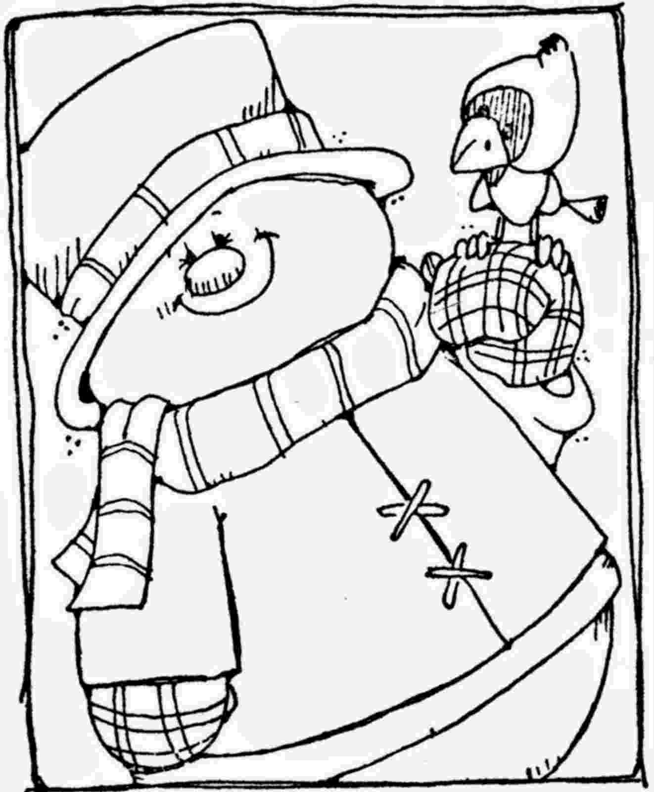 snowman color page cute snowmen free printable coloring pages oh my fiesta snowman page color