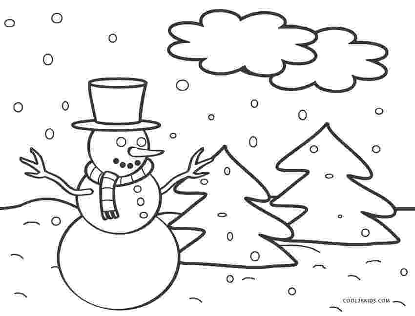 snowman color page free printable snowman coloring pages for kids cool2bkids snowman color page 1 1