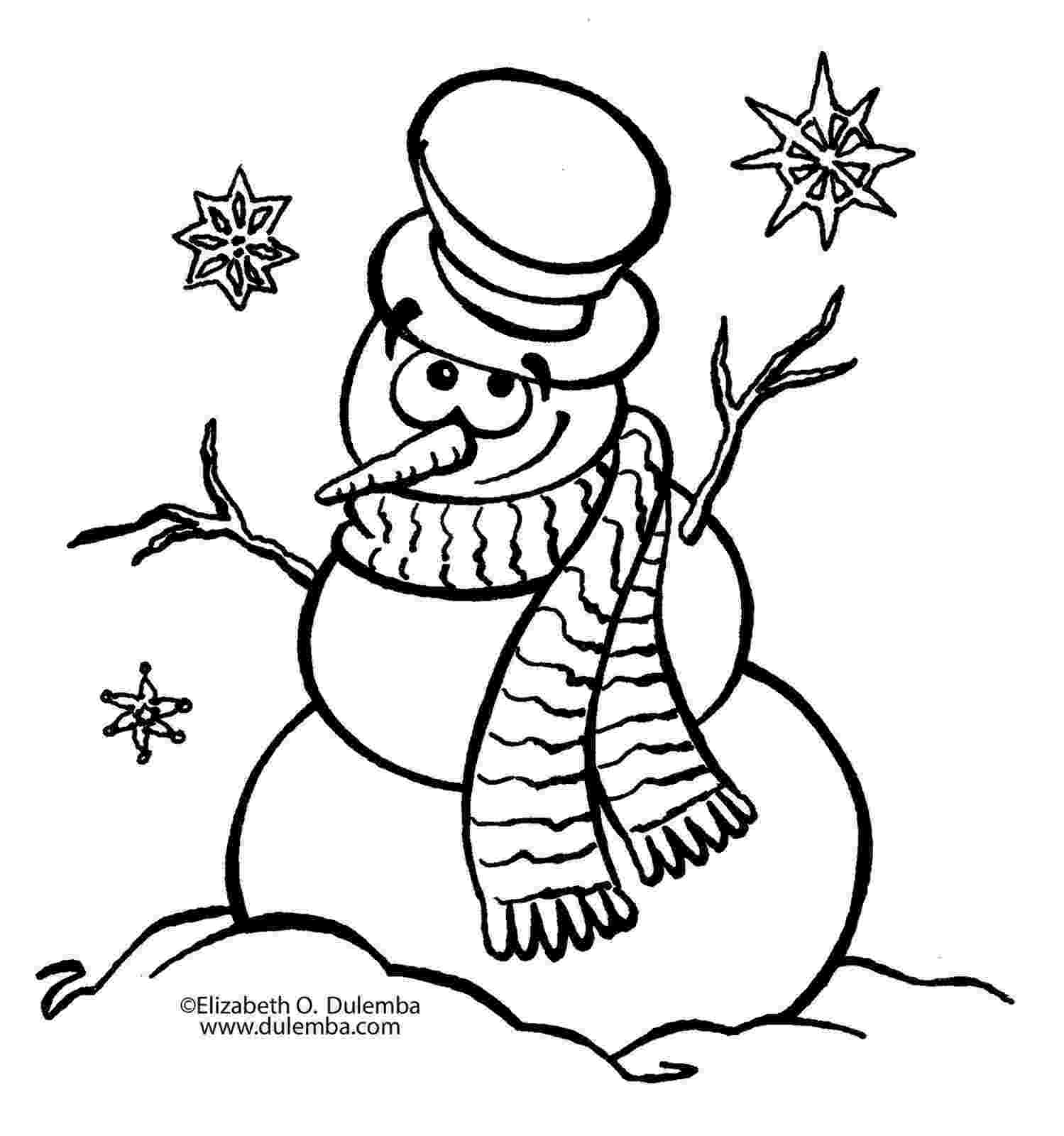 snowman color page snowman coloring pages to download and print for free page snowman color