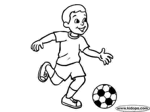 soccer player colouring pages boy soccer player 09 coloring page coloring pages for player pages soccer colouring