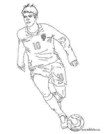 soccer player colouring pages kaka playing soccer coloring pages hellokidscom colouring pages player soccer