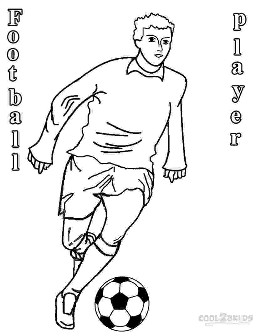 soccer player colouring pages printable football player coloring pages for kids cool2bkids pages player soccer colouring