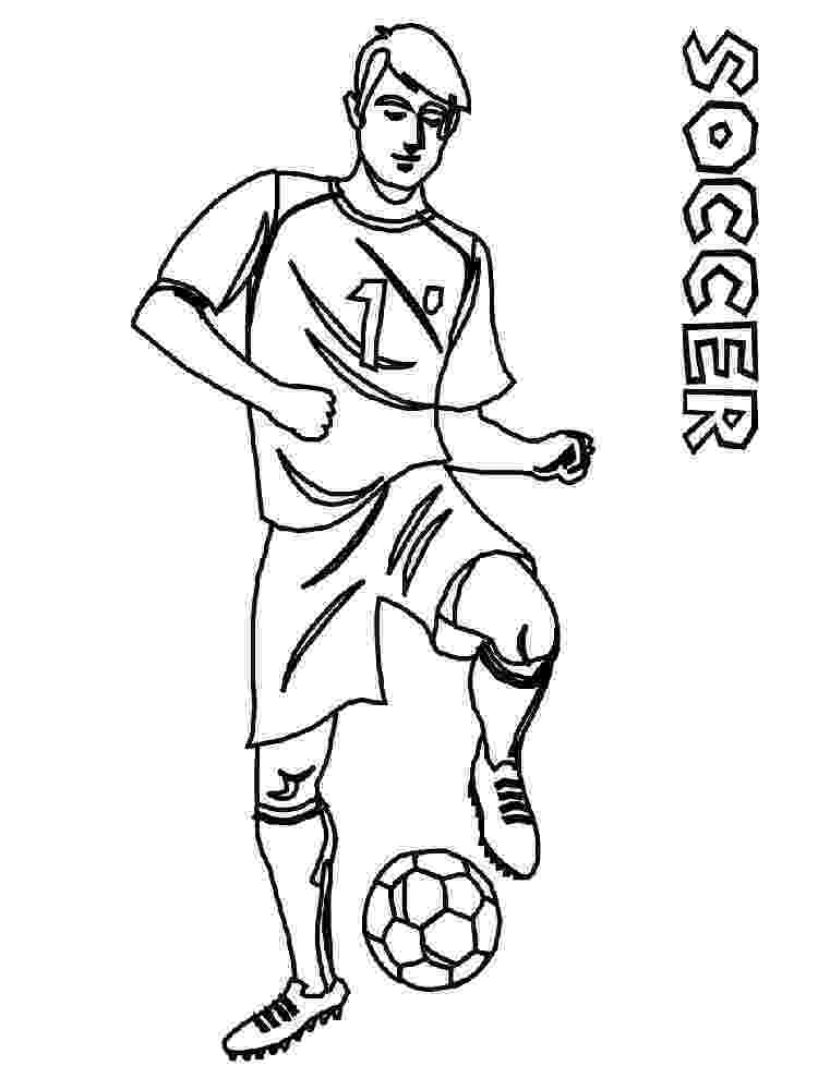soccer player colouring pages soccer player coloring pages free printable soccer player pages colouring player soccer