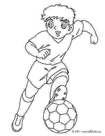 soccer player colouring pages soccer player dribbling coloring pages hellokidscom player soccer colouring pages