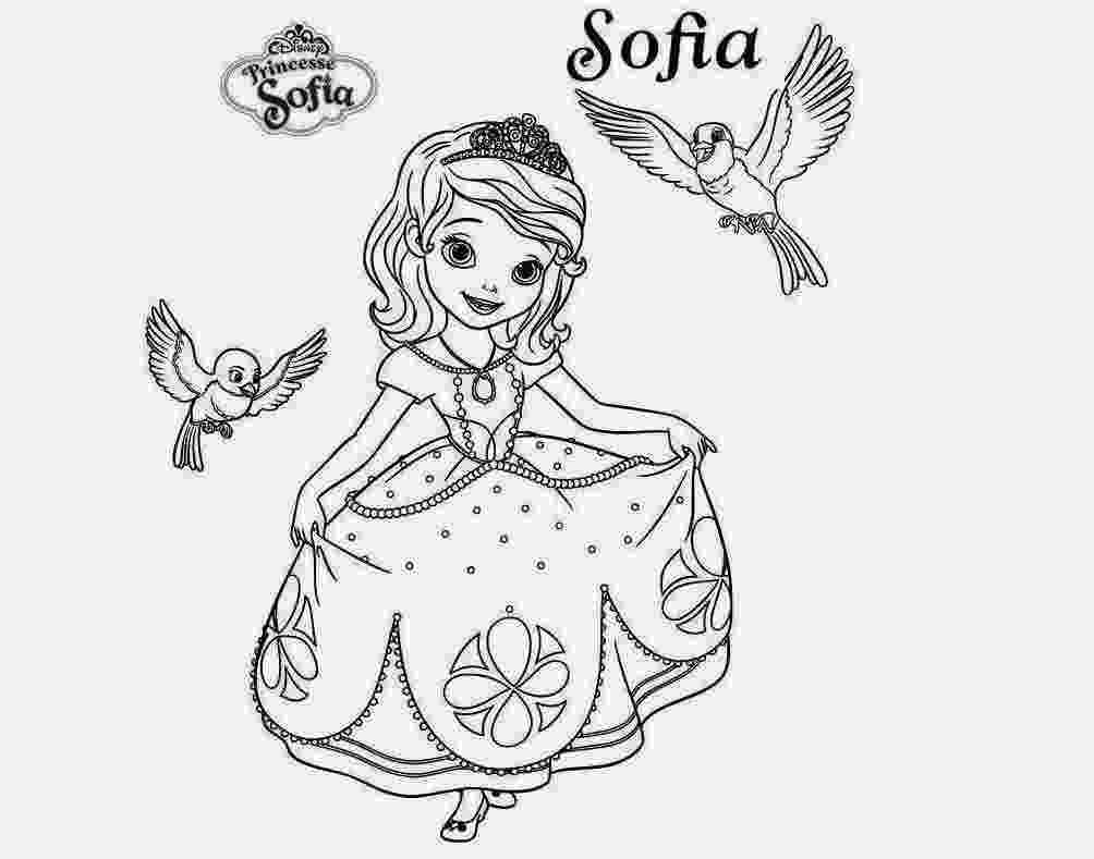 sofia the first coloring sofia the first coloring pages fotolipcom rich image first sofia the coloring