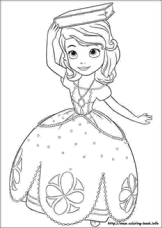 sofia the first colouring pages princess sofia curtseying coloring page free printable the pages first sofia colouring