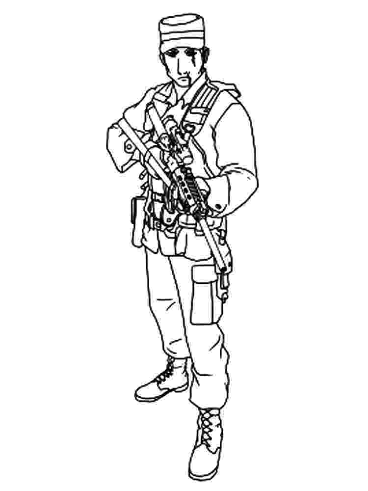 soldier coloring page military soldier drawing at getdrawingscom free for page coloring soldier