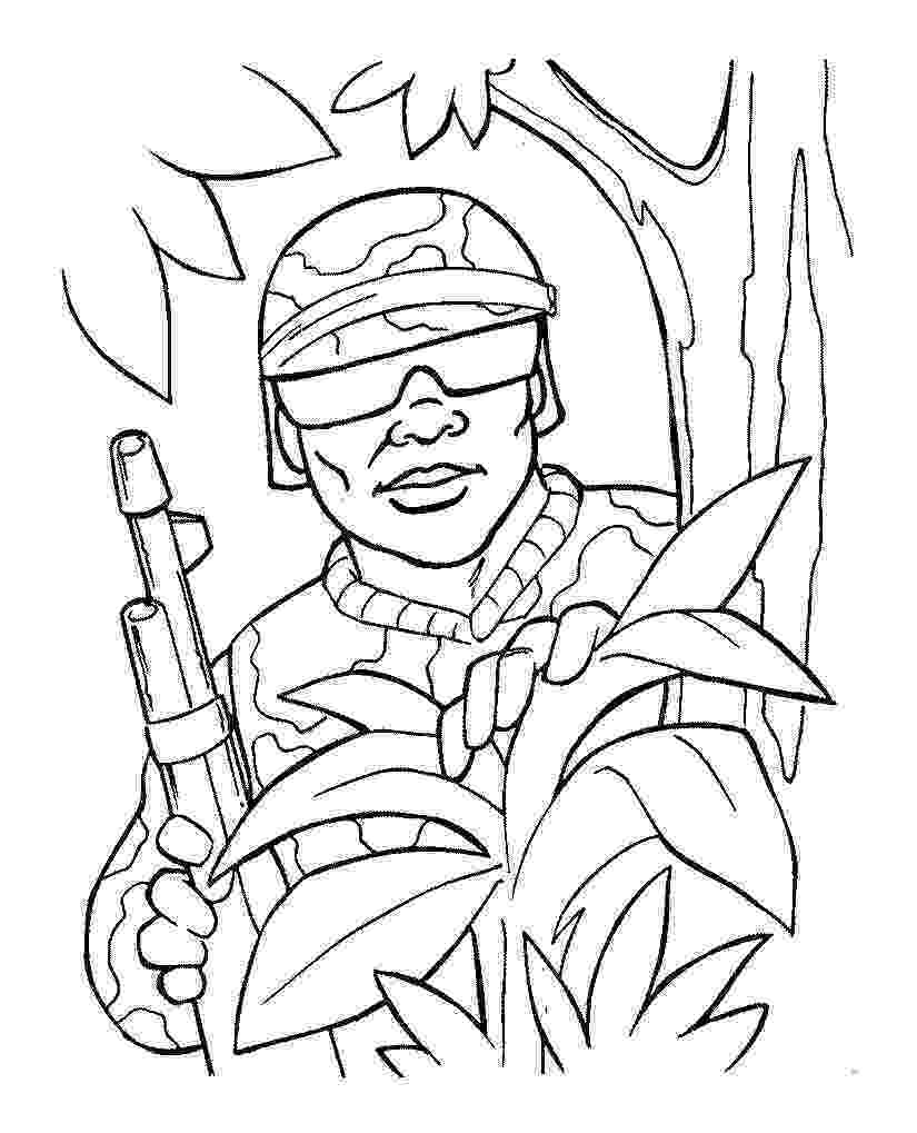 soldier coloring page soldier with m16 coloring page free printable coloring pages soldier page coloring