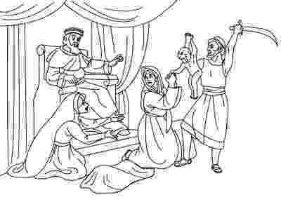 solomon asks for wisdom coloring page Отделение Господа salomon христианские раскраски coloring asks for solomon wisdom page