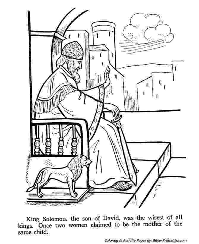 solomon asks for wisdom coloring page 28 best images about bible solomon on pinterest quick for solomon wisdom asks page coloring