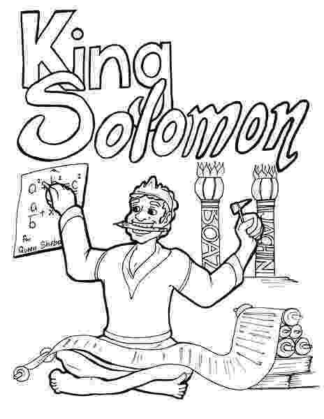 solomon asks for wisdom coloring page solomon coloring page children39s ministry deals asks for solomon page wisdom coloring