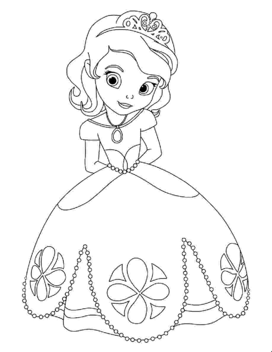 sophie the first coloring pages sofia the first coloring pages for girls to print for free pages first coloring sophie the