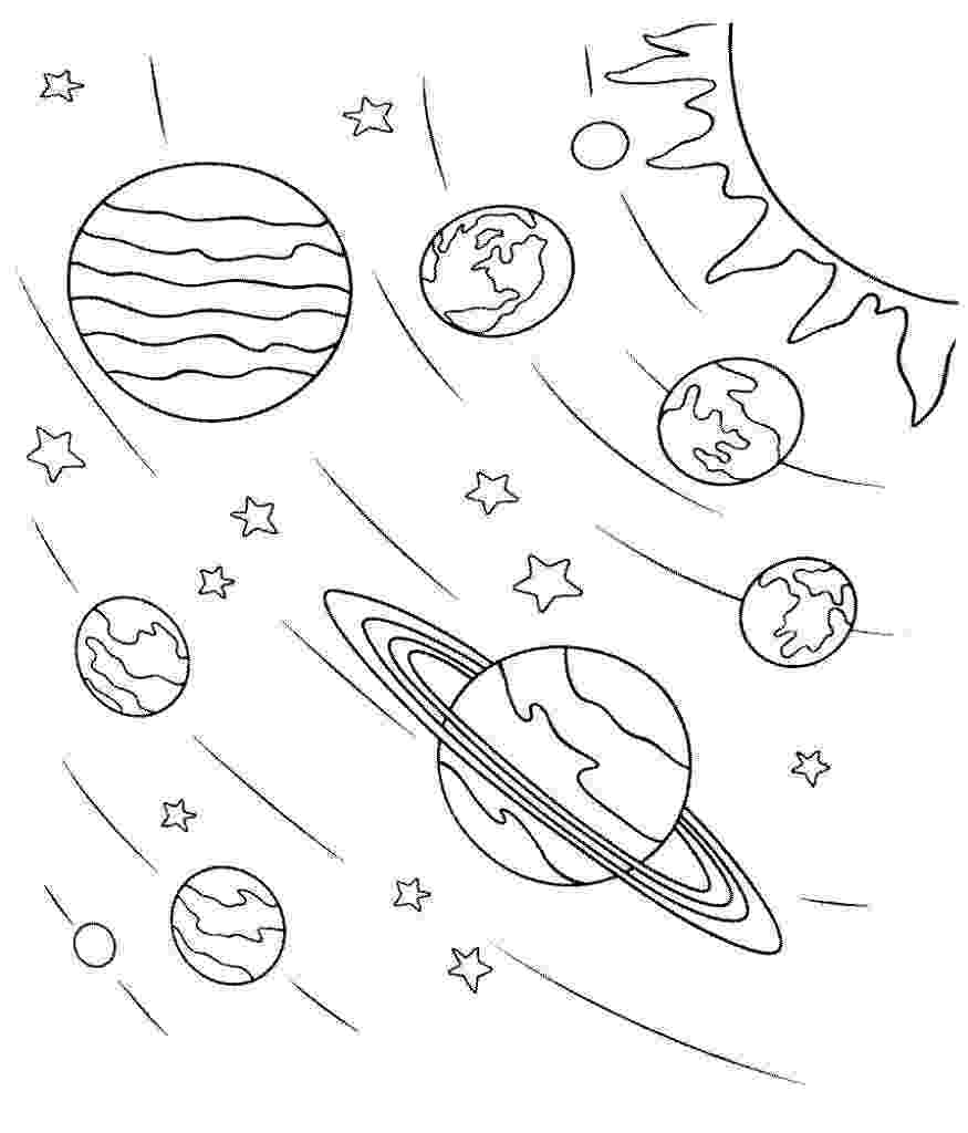 space coloring pages free printable astronaut outer space coloring page coloring home printable free coloring pages space