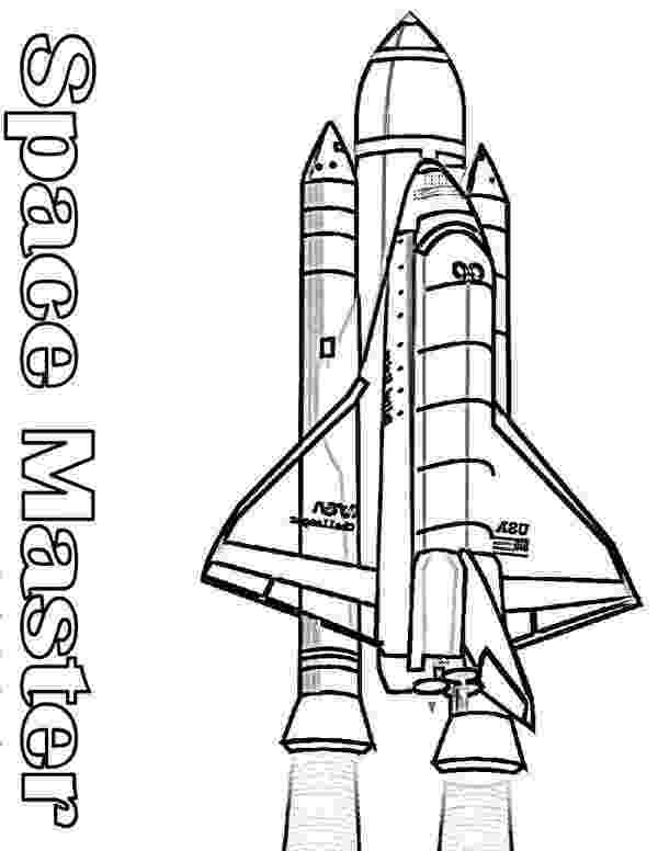 space shuttle coloring pages nasa space shuttle and its rocket booster coloring page pages shuttle space coloring
