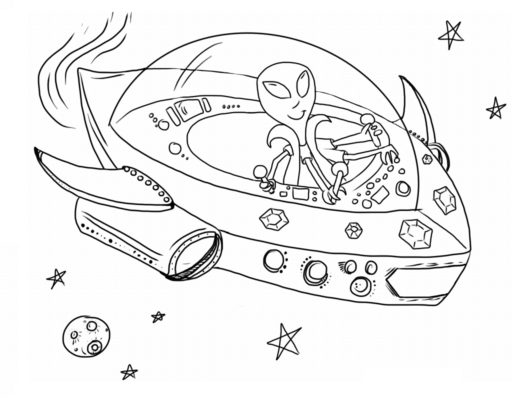 spaceship printables printable spaceship coloring pages for kids cool2bkids printables spaceship