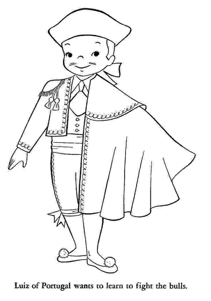spain coloring pages children around the world coloring page spain kids spain pages coloring