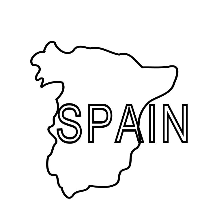 spain coloring pages click to see printable version of map of spain madrid is coloring pages spain