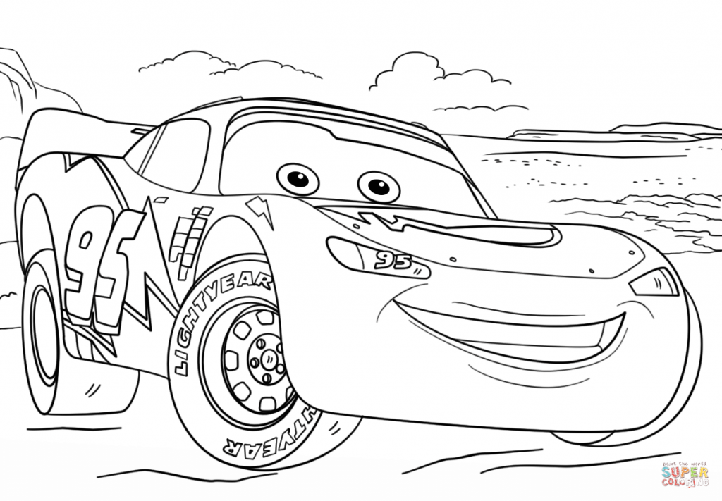 speed mcqueen coloring pages lightning mcqueen line drawing at paintingvalleycom mcqueen coloring speed pages