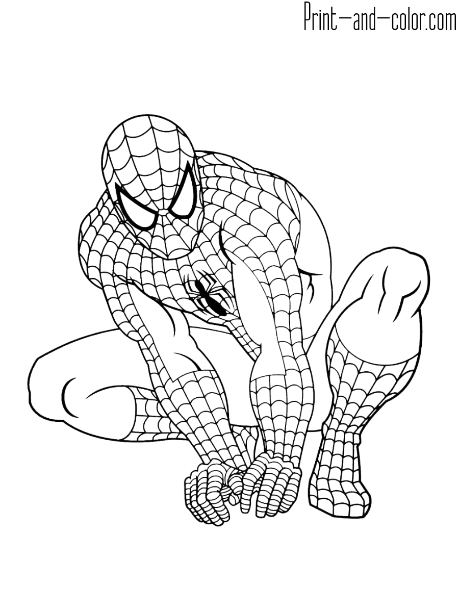 spider man coloring sheet spiderman 3 coloring pages coloringpages1001com coloring man spider sheet