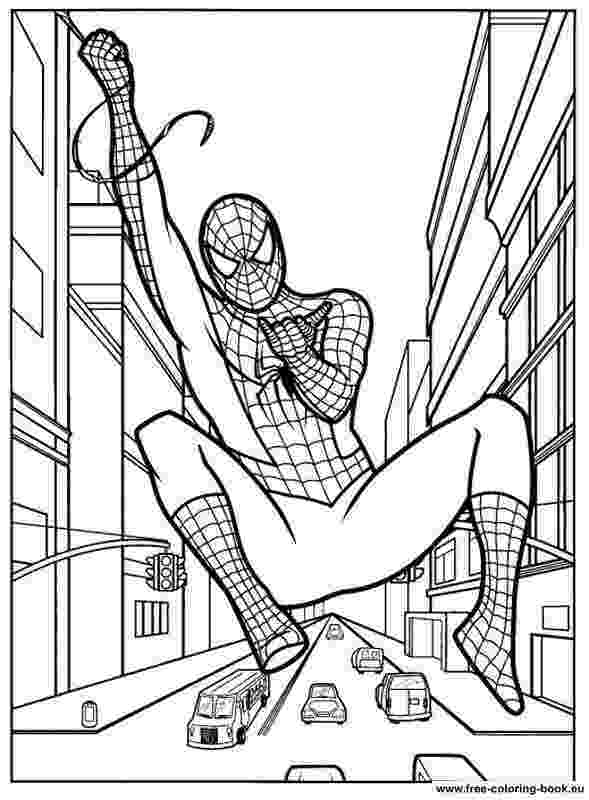 spiderman coloring pages free spiderman coloring pages for kids at getdrawings free free pages spiderman coloring