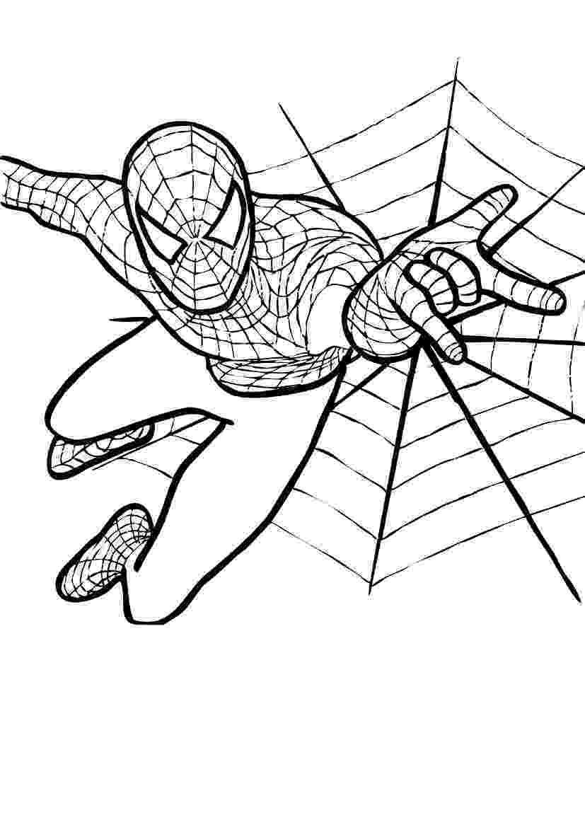 spiderman coloring pages printables spiderman coloring pages coloring pages to print spiderman printables pages coloring