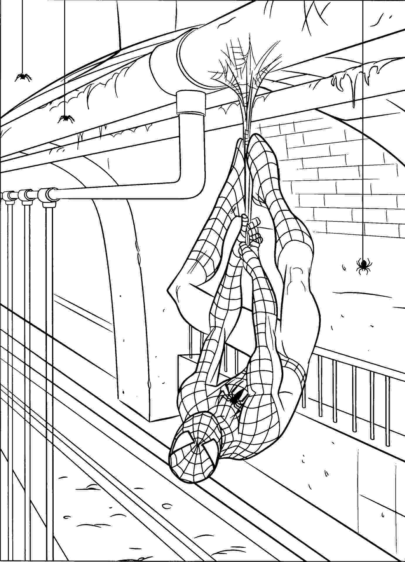spiderman coloring pages printables spiderman to print for free spiderman kids coloring pages spiderman printables coloring pages