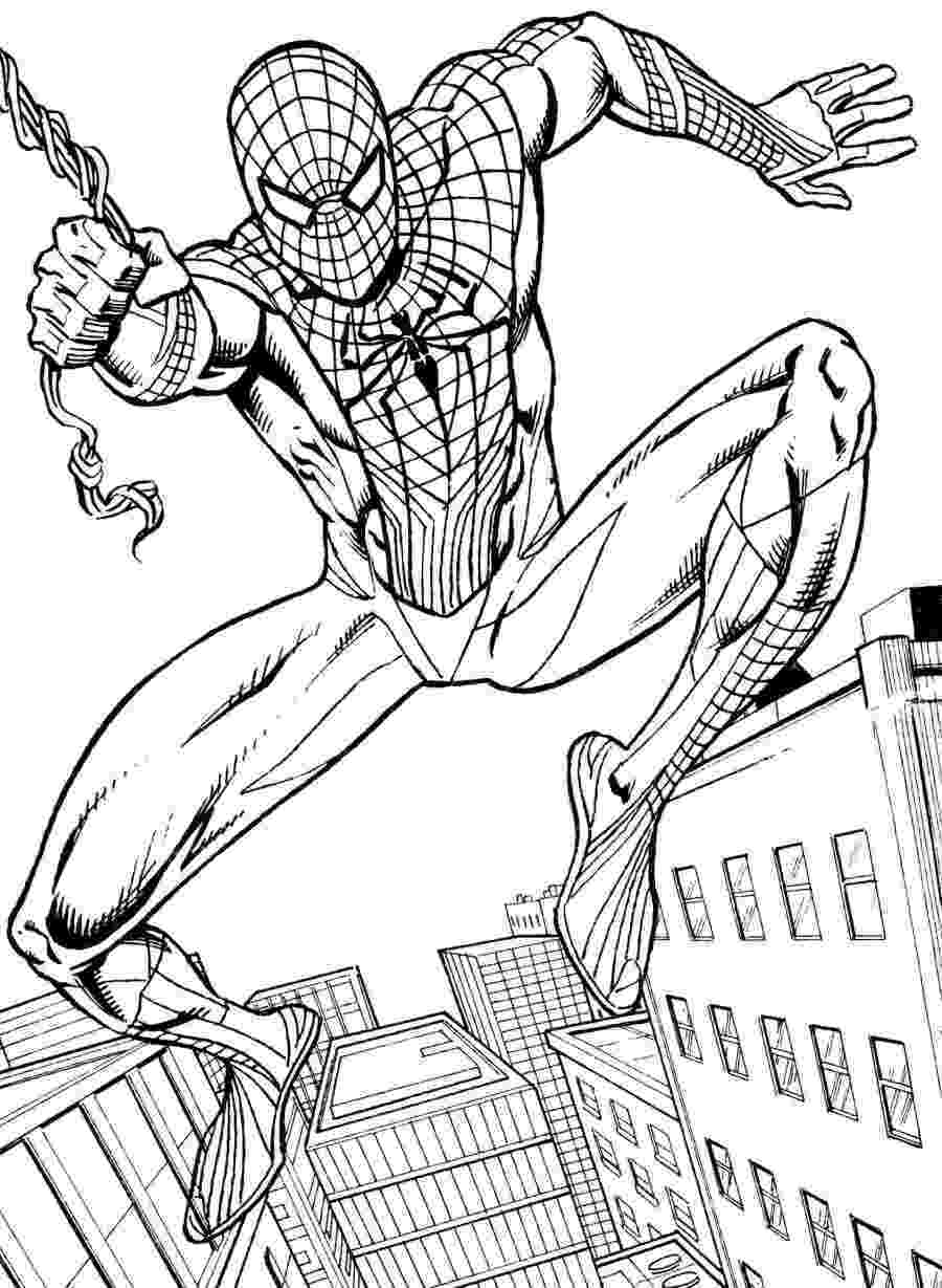 spiderman coloring pages printables the amazing spider man color pages pages printables coloring spiderman