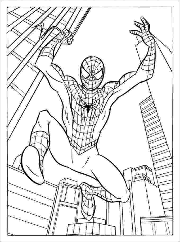 spiderman colouring pages printable coloring pages spiderman free printable coloring pages colouring printable spiderman pages
