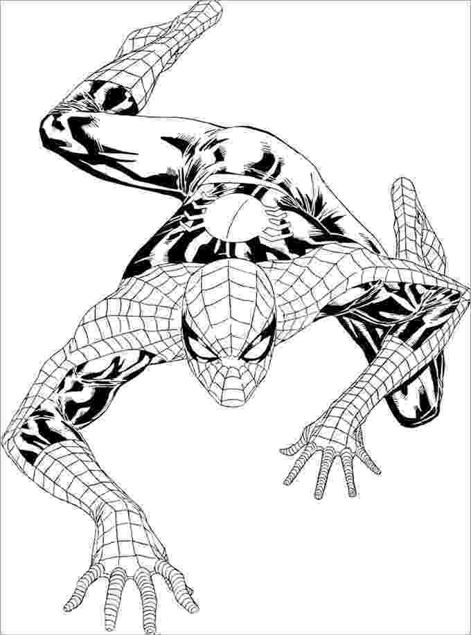 spiderman colouring pages printable spiderman coloring page download for free print printable colouring spiderman pages