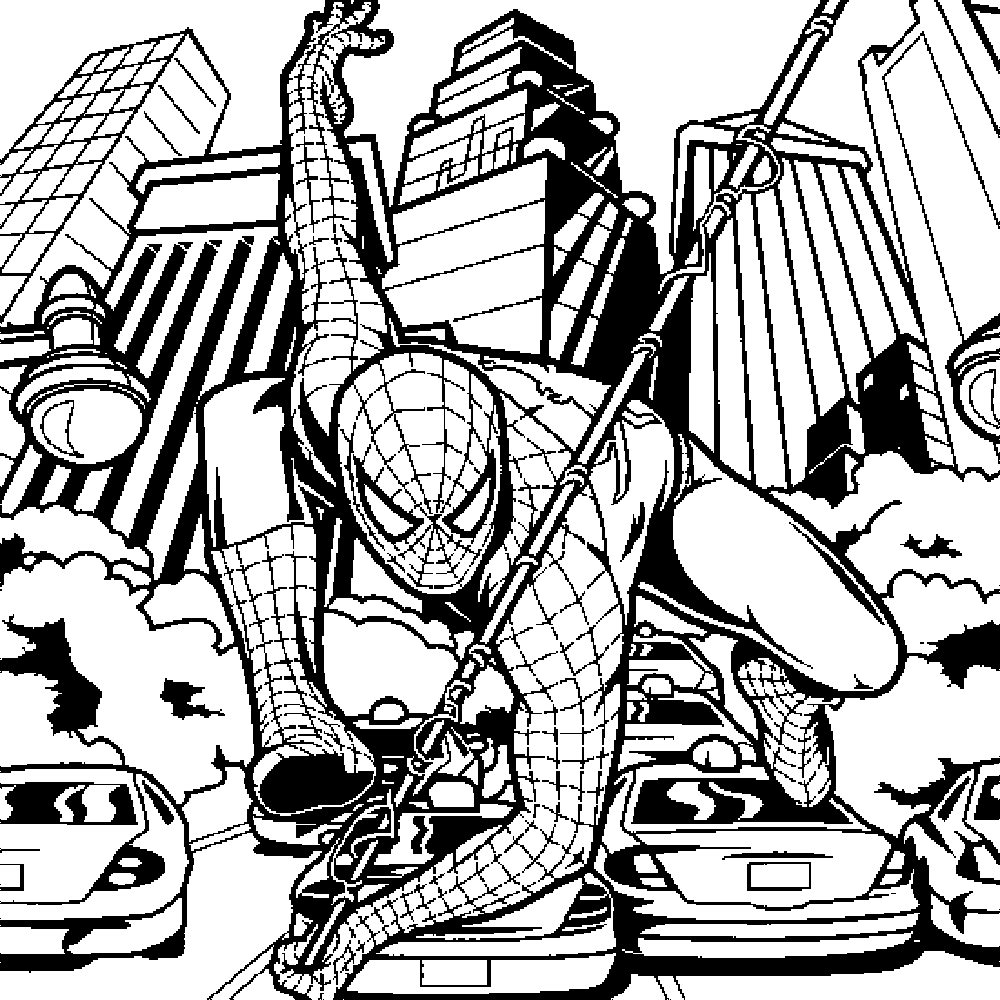 spiderman picture to color get this spiderman coloring pages free printable 679154 picture color to spiderman