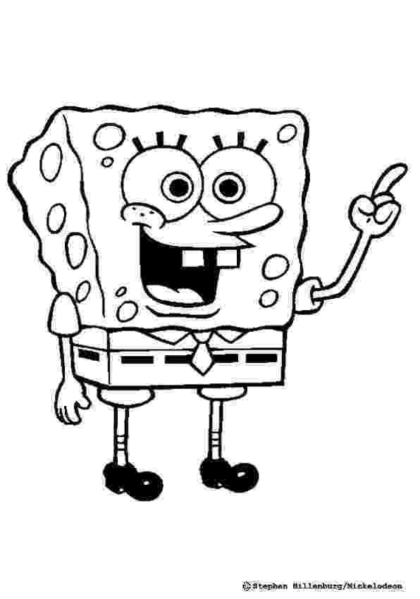 spongebob coloring pages for kids spongebob squarepants coloring pages getcoloringpagescom pages coloring kids for spongebob