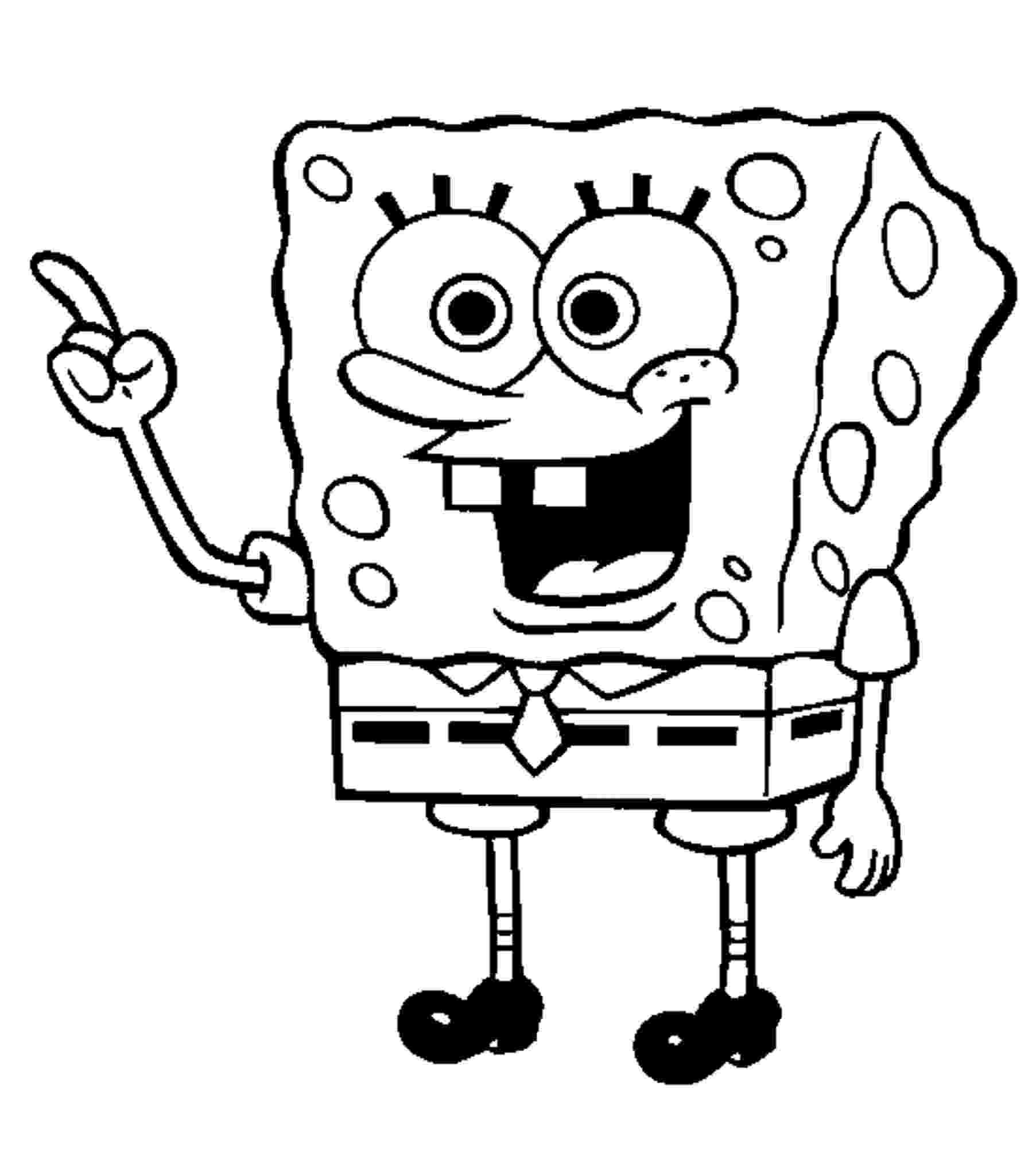 spongebob coloring sheet spongebob coloring pages sheet spongebob coloring