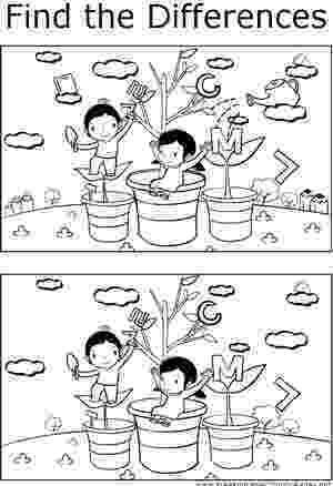 spot the difference printable teachers can use this printable coloring page to help spot difference the printable