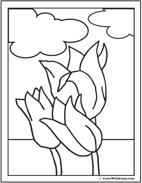spring flower coloring pages spring butterfly and three spring flower coloring page coloring spring flower pages